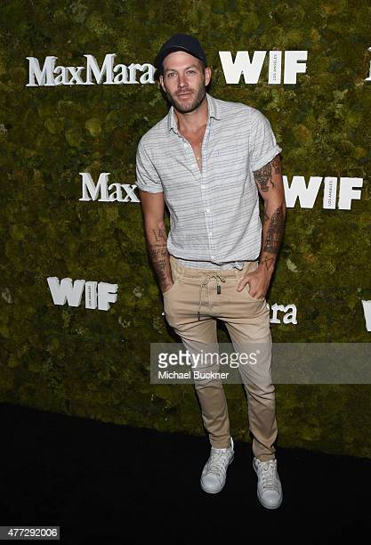 Film costume designer Johnny Wujek attends The Max Mara 2015 Women In Film Face Of The Future event at Chateau Marmont on June 15 2015 in West...