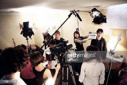 Film Crew - On Location