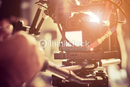 Film Crew. : Stock Photo