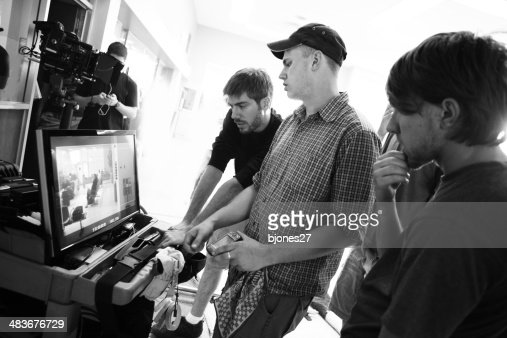 Film Crew Watch Monitor
