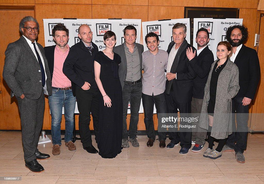 Film Critic Elvis Mitchell actors Adam Scott Paul Scheer Anne Hathaway Jason Bateman director Fred Savage actors Fred Willard Nick Kroll Mae Whitman...