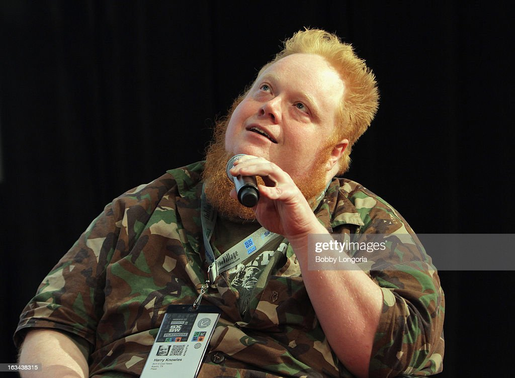 Film critic Harry Knowles speaks onstage at 'Milius' Q&A during the 2013 SXSW Music, Film + Interactive Festival at Austin Convention Center on March 9, 2013 in Austin, Texas.