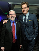 Film critic Leonard Maltin and Actor Michael Shannon attend the 40th Annual Los Angeles Film Critics Association Awards at InterContinental Hotel on...