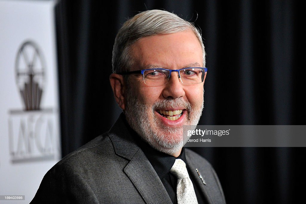 Film critic Leonard Maltin arrives at the 38th Annual Los Angeles Film Critics Association Awards at InterContinental Hotel on January 12, 2013 in Century City, California.