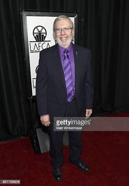 Film critic Leonard Maltin attends the 42nd annual Los Angeles Film Critics Association Awards at InterContinental Los Angeles Century City on...