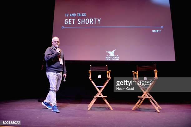 Film critic Matt Zoller Seitz attends the 'TV and Talk Get Shorty' QA during the 2017 Nantucket Film Festival Day 3 on June 23 2017 in Nantucket...