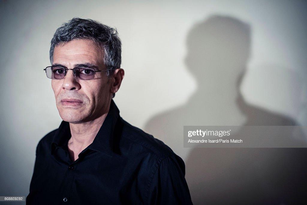 Film director Abdellatif Kechiche is photographed for Paris Match on December 16, 2015 in Paris, France.