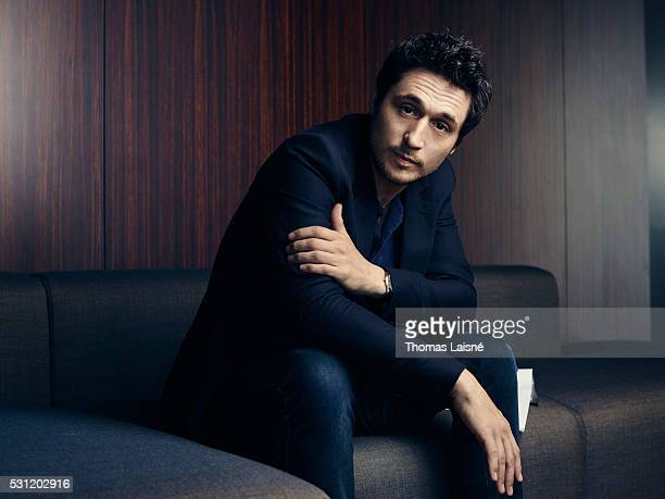 Film director actor and screenwriter Jeremie Elkaim is photographed on May 12 2016 in Cannes France