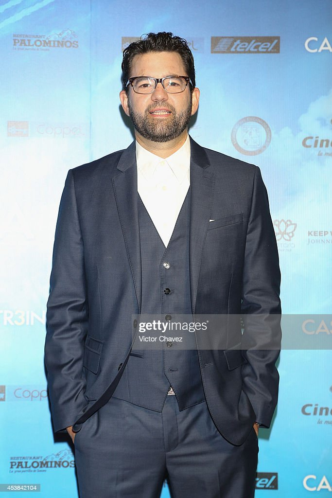 Film director Alejandro Sugich attends 'Casi Treinta' Mexico City premiere red carpet at Cinemex Antara Polanco on August 19, 2014 in Mexico City, Mexico.