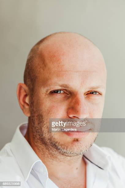 Film director Alexis Ducord is photographed for Self Assignment on May 25 2017 in Cannes France