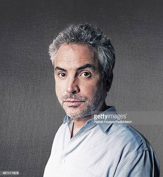 Film director Alfonso Cuaron is photographed for Paris Match on September 26 2013 in Paris France