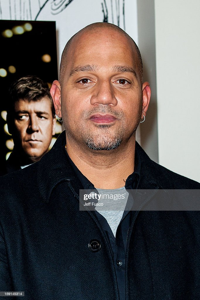Film director Allen Hughes attends the Philadelphia screening of the movie 'Broken City' at the Prince Music Theater January 8, 2013 in Philadelphia, Pennsylvania.