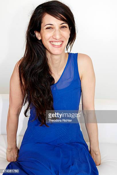 Film director and actor Deniz Gamze Erguven is photographed on May 17 2015 in Cannes France