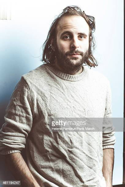 Film director and actor Vincent Macaigne is photographed for Paris Match on December 7 2013 in Paris France