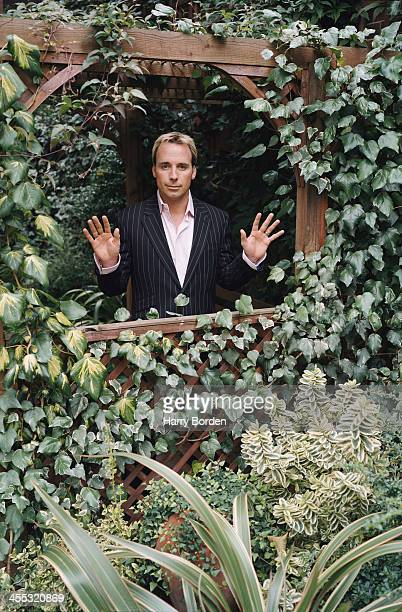 Film director and producer and civil partner to Elton John David Furnish is photographed for ES magazine in London United Kingdom