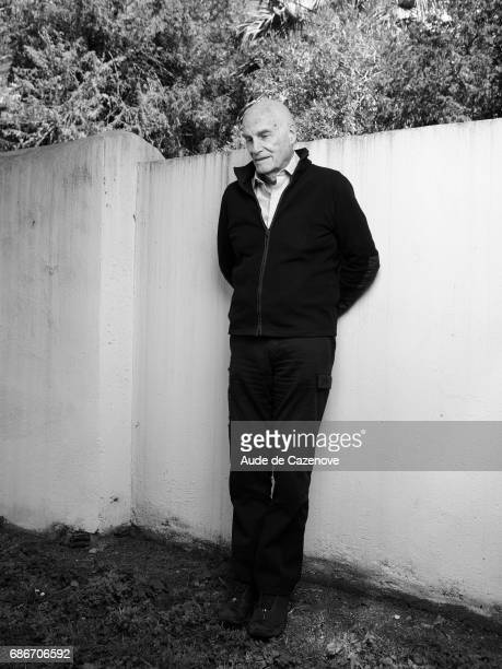 Film director and producer Barbet Schroeder is photographed on May 21 2017 in Cannes France