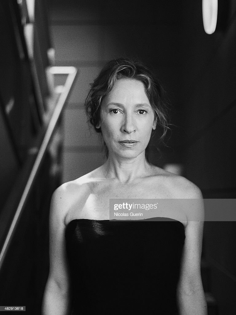 Film director and screenwriter <a gi-track='captionPersonalityLinkClicked' href=/galleries/search?phrase=Emmanuelle+Bercot&family=editorial&specificpeople=2147740 ng-click='$event.stopPropagation()'>Emmanuelle Bercot</a> is photographed on May 13, 2015 in Cannes, France.