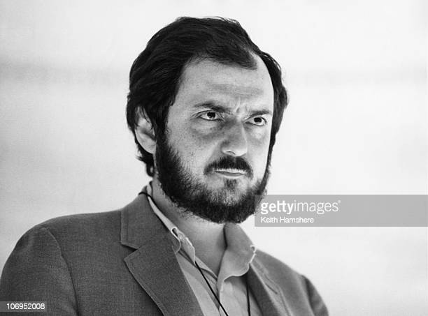 Film director and screenwriter Stanley Kubrick on the set of '2001 A Space Odyssey' 1966