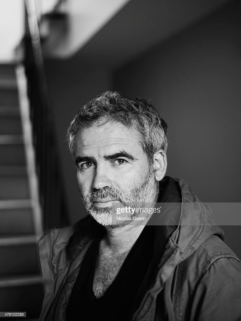 Film director and screenwriter Stephane Brize is photographed on April 28, 2015 in Cannes, France.