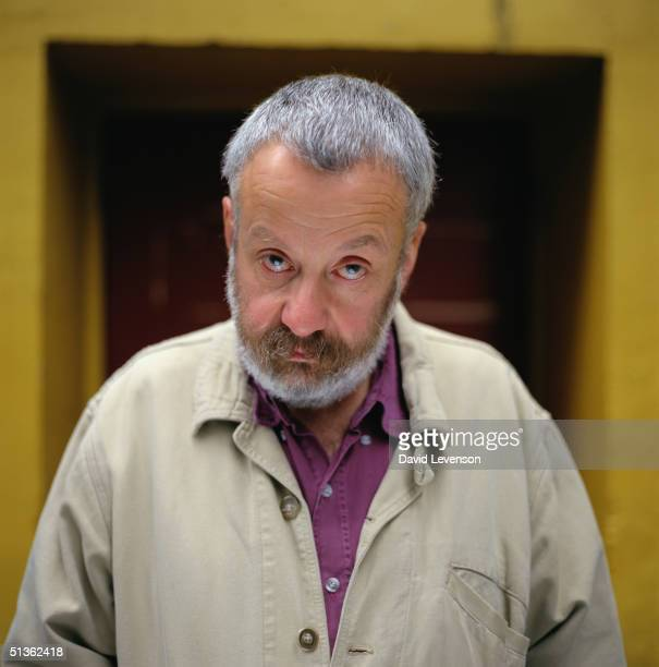 Film Director and Writer Mike Leigh in London on September 20 1996 Leigh has written and directed many films including 'All Or Nothing' 'TopsyTurvy'...
