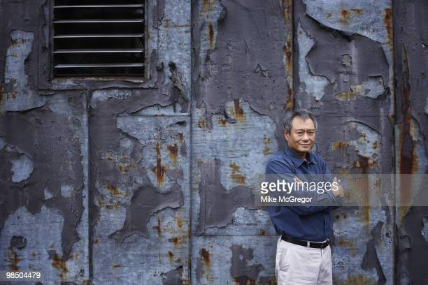 Film director Ang Lee at a portrait session in New York City on January 27 2010 for DGA Quarterly Magazine Published image
