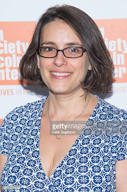 Film Director Anna Boden attends the sneak preview of 'Mississippi Grind' at The Film Society of Lincoln Center Walter Reade Theatre on September 22...