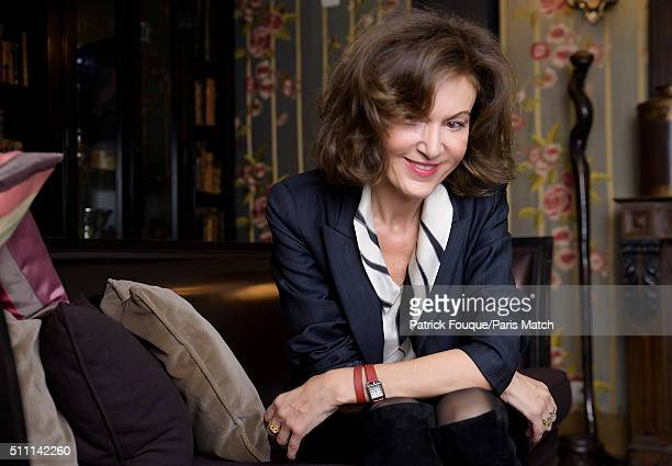Film director Anne Fontaine is photographed for Paris Match on January 26 2016 in Paris France