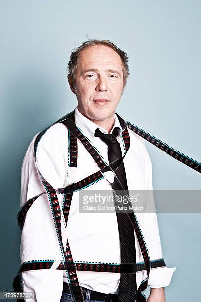 Film director Arnaud Desplechin is photographed for Paris Match on April 23 2015 in Paris France