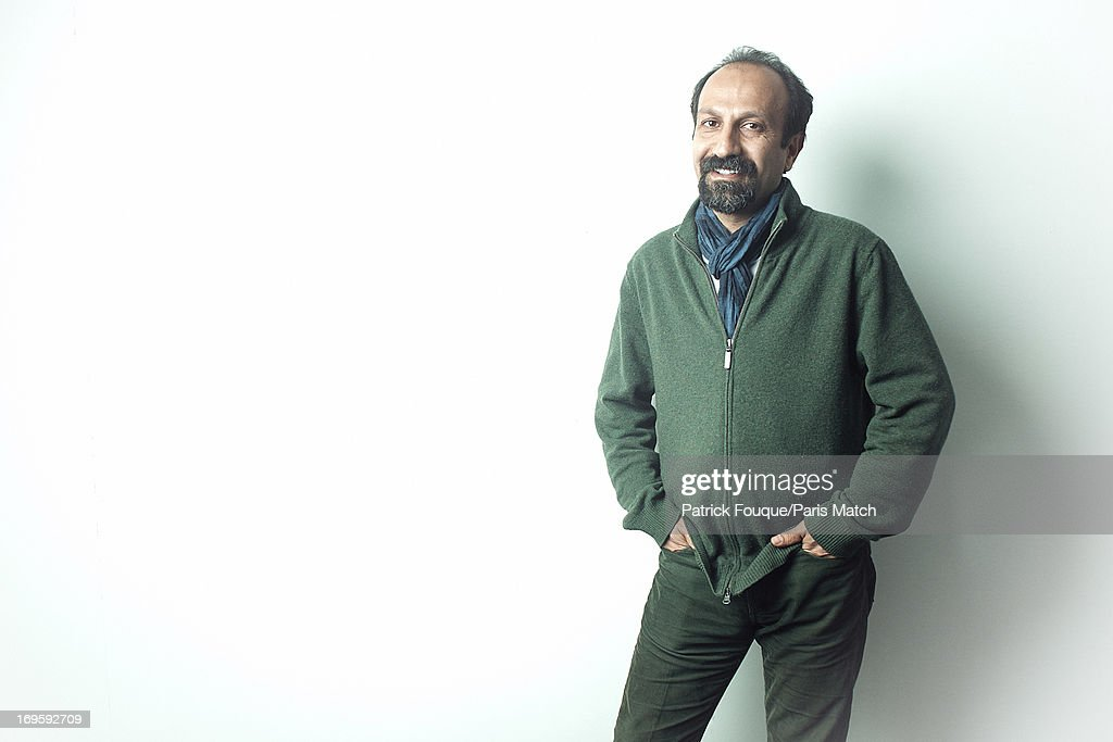 Film director <a gi-track='captionPersonalityLinkClicked' href=/galleries/search?phrase=Asghar+Farhadi&family=editorial&specificpeople=5700577 ng-click='$event.stopPropagation()'>Asghar Farhadi</a> is photographed for Paris Match on May 7, 2013 in Paris, France.