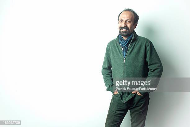 Film director Asghar Farhadi is photographed for Paris Match on May 7 2013 in Paris France