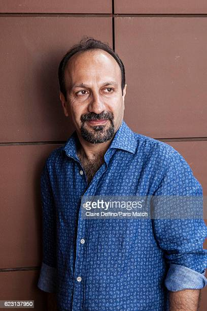 Film director Asghar Farhadi is photographed for Paris Match on May 21 2016 in Cannes France