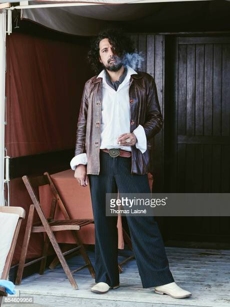 Film director Bertrand Mandico is photographed for Self Assignment on September 5 2017 in Venice Italy