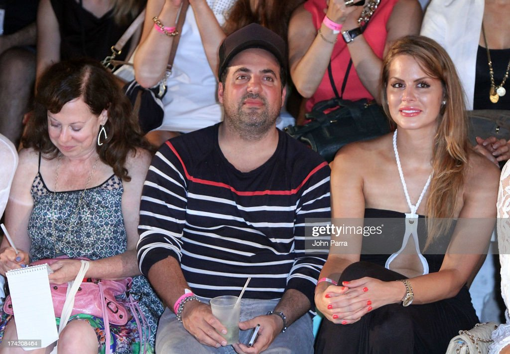 Film director <a gi-track='captionPersonalityLinkClicked' href=/galleries/search?phrase=Brett+Ratner&family=editorial&specificpeople=206147 ng-click='$event.stopPropagation()'>Brett Ratner</a> (center) attends the Wildfox Swim Cruise 2014 show at Soho Beach House on July 21, 2013 in Miami Beach, Florida.