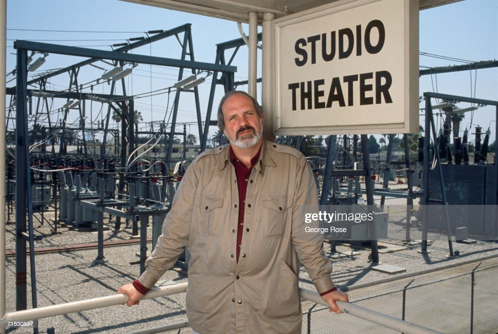 Film Director Brian De Palma poses during a 1989 West Hollywood, California, photo portrait session. De Palma has directed such thrillers as 'Carrie,' 'Dressed to Kill,' and 'Scarface.'