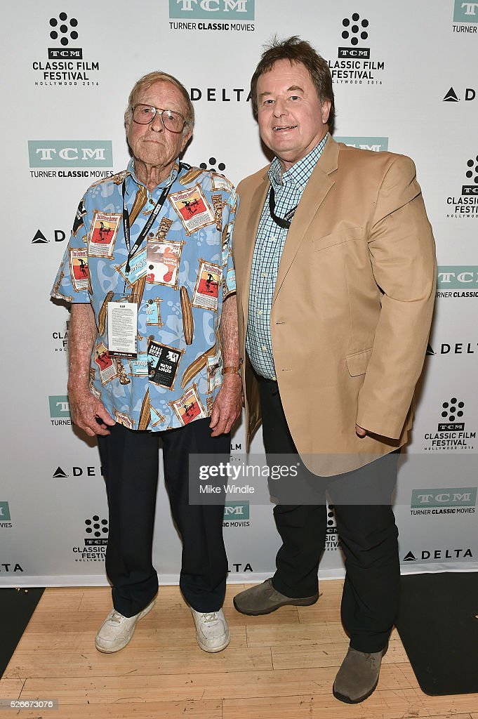 Film director Bruce Brown (L) and journalist Randy Williams attend 'The Endless Summer' screening during day 3 of the TCM Classic Film Festival 2016 on April 30, 2016 in Los Angeles, California. 25826_008
