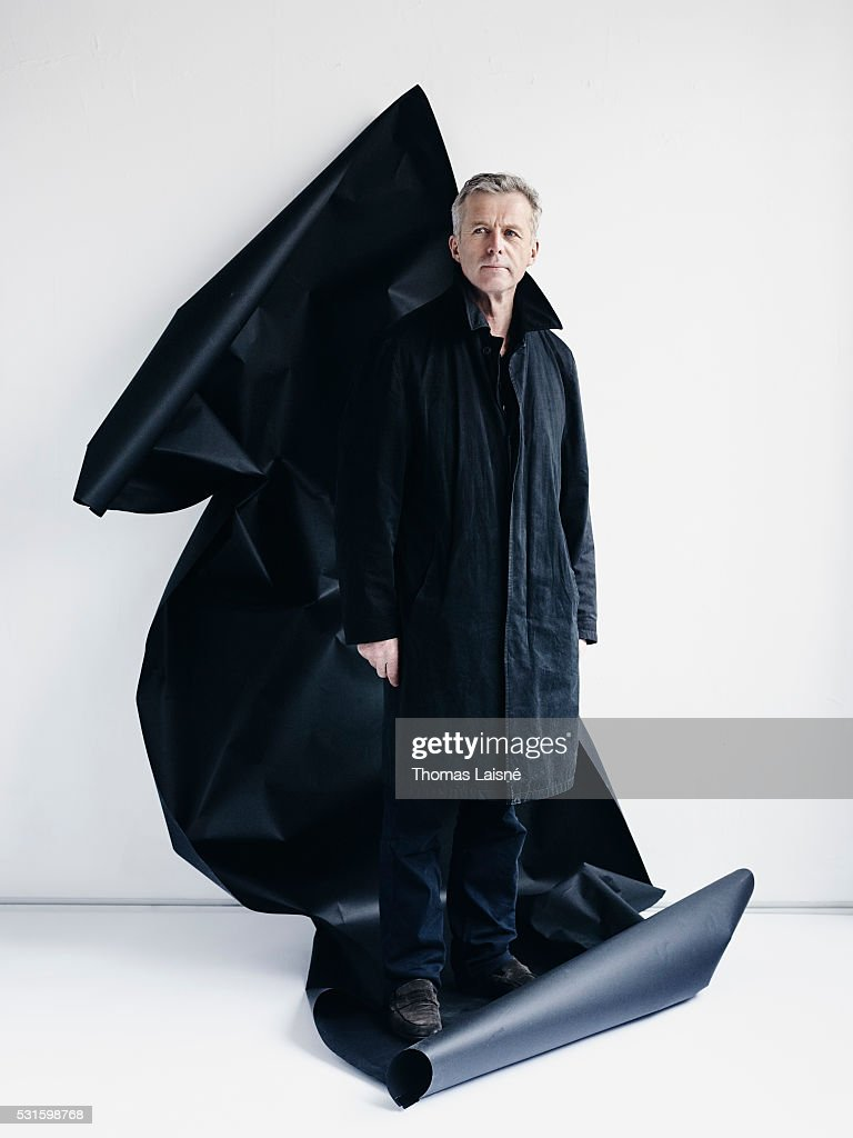 Film director Sebastien Laudenbach is photographed on May 12, 2016 in Paris, France.