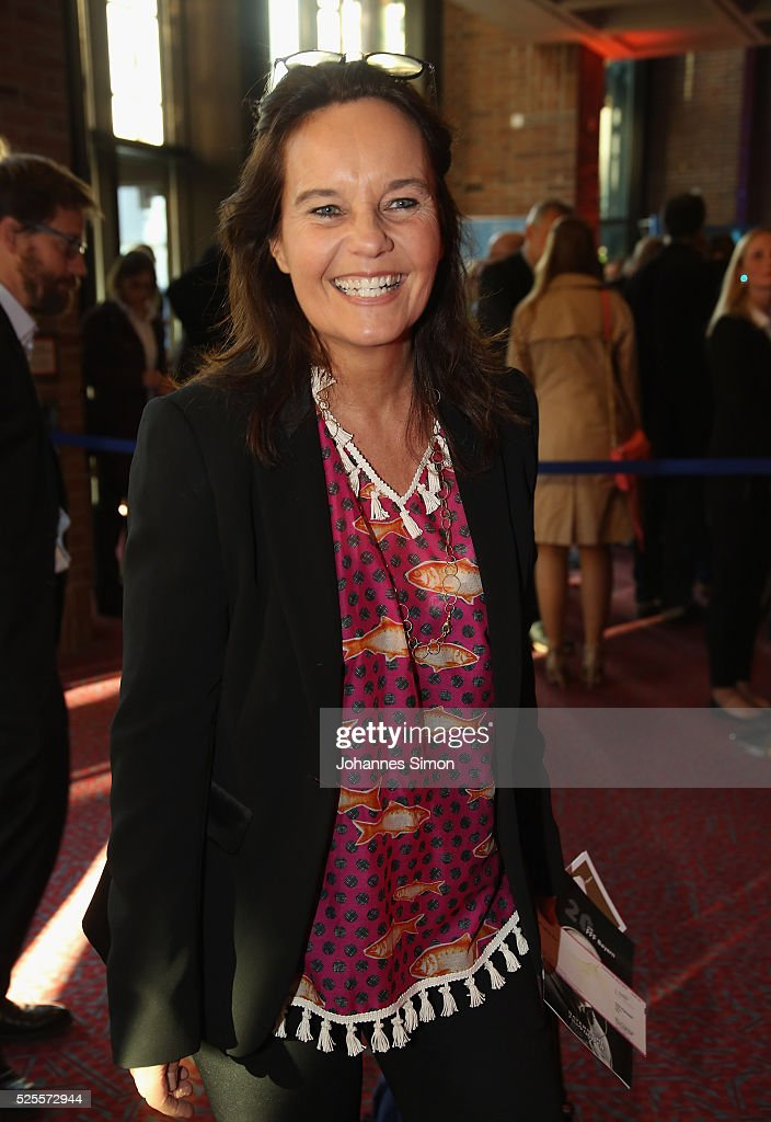 Film director Caroline Link attends the FilmFernsehFonds Bayern celebrations at Gasteig Carl-Orff-Saal on April 28, 2016 in Munich, Germany.
