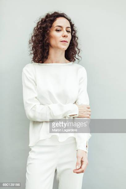 Film director Cecilia Atan is photographed on May 25 2017 in Cannes France