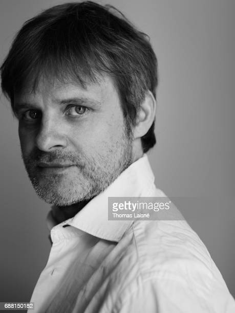Film director Christian Sonderegger is photographed on May 22 2017 in Cannes France