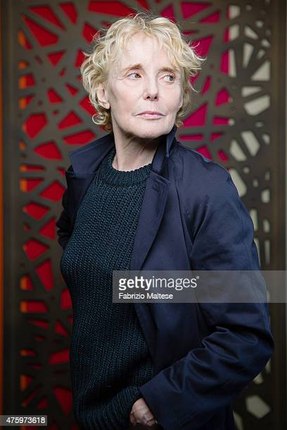 Film director Claire Denis is photographed on May 15 2015 in Cannes France