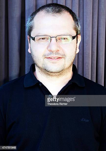 Film director Corneliu Porumboiu is photographed on May 21, 2015 in Cannes, France.