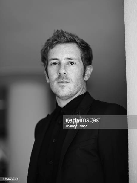 Film director Damien Manivel from the film 'The Night I Swam' is photographed for Self Assignment on September 5 2017 in Venice Italy
