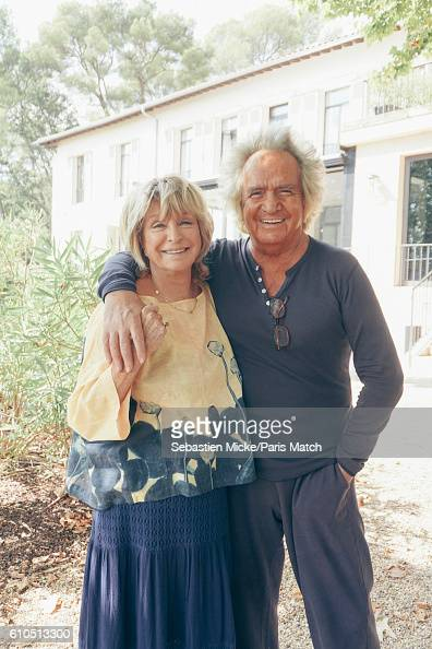 Film director Daniele Thompson and her husband and film producer Albert Koski are photographed for Paris Match on September 13 2016 in AixEnProvence...