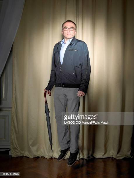 Film director Danny Boyle is photographed for Paris Match on April 15 2013 in Paris France