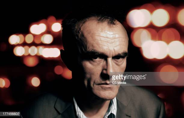 Film director Danny Boyle is photographed on September 9 2008 in Toronto Ontario