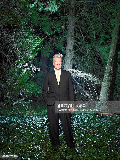 Film director David Lynch is photographed for Paris Match on April 5 2013 in Beaune France
