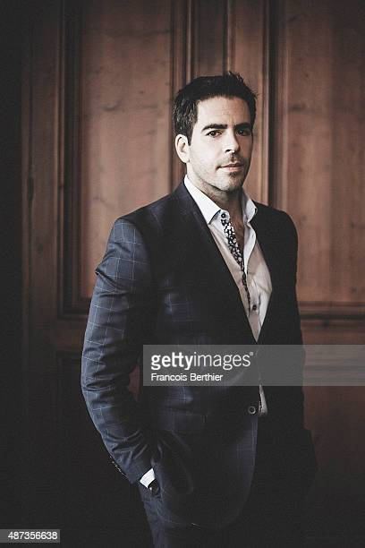 Film director Eli Roth is photographed at the 41st Deauville American Film Festival on September 5 2015 in Deauville France
