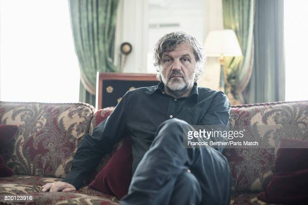 Film director Emir Kusturica is photographed for Paris Match on June 22 2017 in Paris France