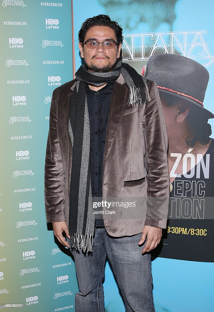Film Director Geoffrey Guerro attends the HBO Latino NYC Premiere of 'Santana: De Corazon' at Hudson Theatre on April 16, 2014 in New York City.