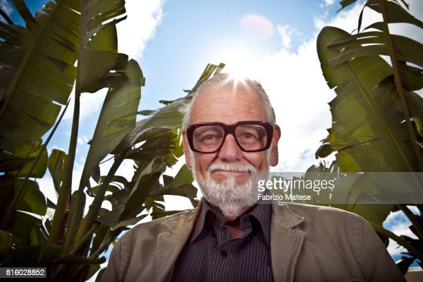 Film director George Romero is photographed on September 9 2009 in Cannes France